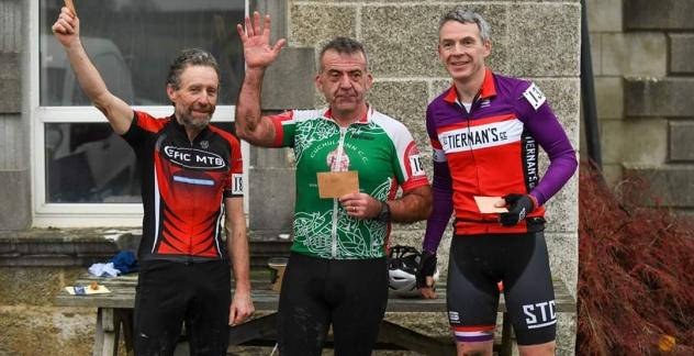 Fergus McCann wins his age group